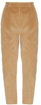 Awake Preppy high-waisted corduroy trousers