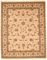 """Nourison Closeout! Royalty RO75 Beige 8'6"""" x 11'6"""" Hand-Knotted Rug"""