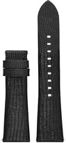 Michael Kors Access Women's Bradshaw Black Lizard Embossed Leather Smartwatch Strap MKT9007