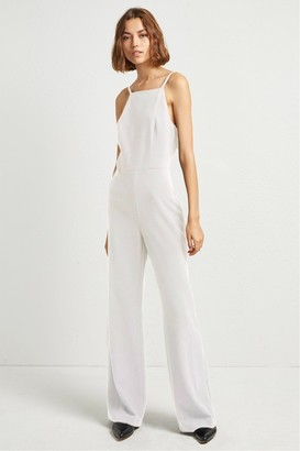 French Connenction Whisper Ruth Strappy Jumpsuit
