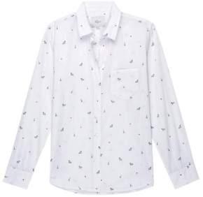 Rails Little Paris Taylor Shirt - S - White