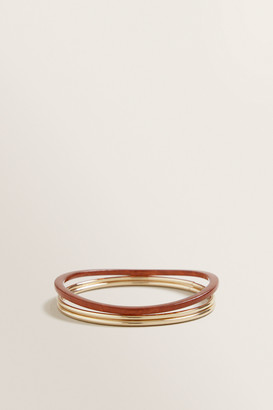 Seed Heritage Resin Gold Bracelet Pack