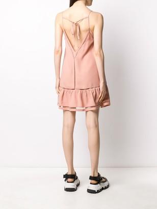 RED Valentino cutout short dress