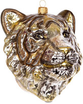 Jay Strongwater Tiger Head Tree Decoration - Gold