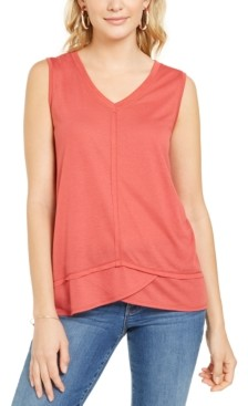 Style&Co. Style & Co High-Low Tank Top, Created for Macy's