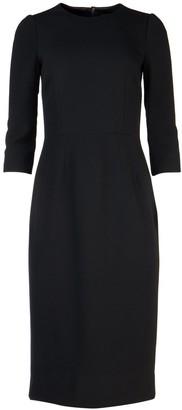 Dolce & Gabbana Fitted Slit Hem Dress