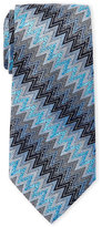 Missoni Zig Zag Pattern Silk Tie