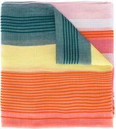 Paul Smith colour block striped scarf - women - Cotton/Viscose - One Size