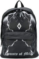 Marcelo Burlon County of Milan lightning strike backpack