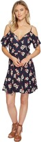 Thumbnail for your product : Angie Women's Cold Shoulder Wrap Dress