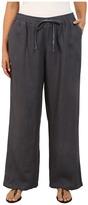Allen Allen Plus Size Beach Pants