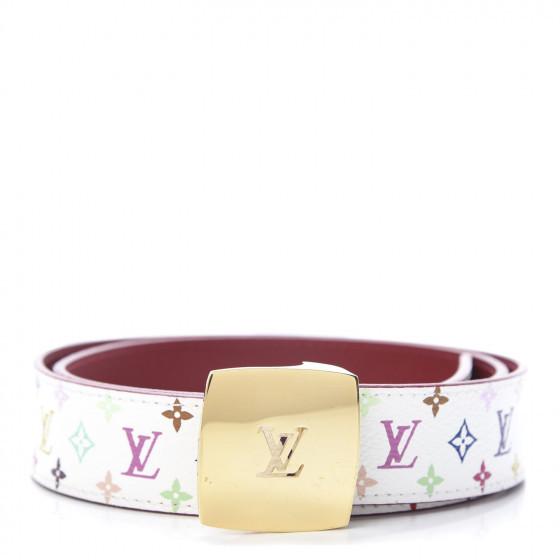 Monogram Multicolor Lv Cut Reversible Belt