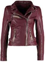 Gipsy PERFECTO Leather jacket wine