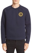 Versace Men's Neoprene Sweatshirt With Patch