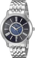 Lucien Piccard Women's Sofia 40004-33 Silver-Tone/ Stainless Steel Watch