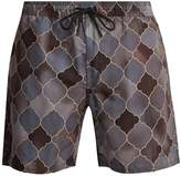 Saturdays NYC Timothy Rocco-print swim shorts