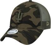 New Era Women's Camo Indiana Hoosiers Trucker 9TWENTY Adjustable Hat