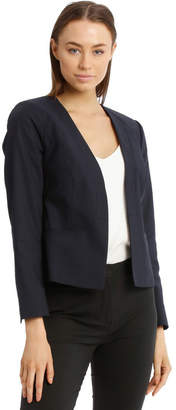 Basque Olivia Cotton Sateen Jacket