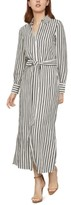 BCBGMAXAZRIA Striped Shirtdress
