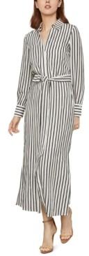 BCBGMAXAZRIA Striped Shirtdress