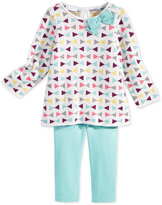 First Impressions Baby Girls' 2-Pc. Long-Sleeve Intarsia Sweater Tunic & Leggings Set, Only at Macy's