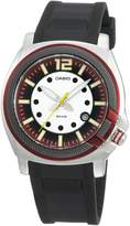 Casio Men's Core MTP1317-4AV Black Resin Quartz Watch with Dial