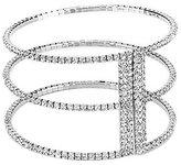 Cezanne Triple Floating Rows Open Cuff Bracelet