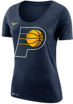 Nike Women's Indiana Pacers NBA Dry Logo T-Shirt, Blue