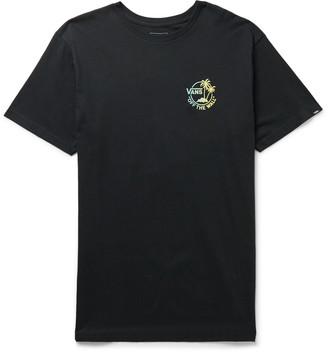 Vans Logo-Print Cotton-Jersey T-Shirt
