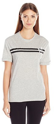 MinkPink Women's The Flip Side Stripe Tee