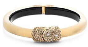Alexis Bittar Encrusted Hinge Bangle Bracelet