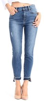 Level 99 Women's Elle Uneven Hem Skinny Jeans