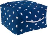 Kid Kraft Square Print Pouf