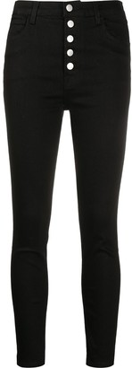 J Brand Lille high-rise skinny jeans