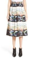 Burberry Women's Kinsale Print A-Line Skirt