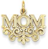goldia 14k or White Gold Mom Charm