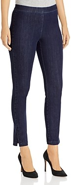 Lafayette 148 New York Murray Cropped Skinny Jeans in Blue
