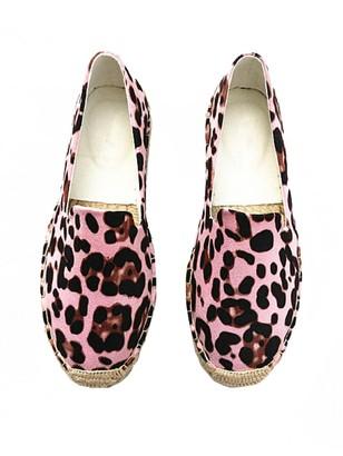 Goodnight Macaroon 'Margaret' Leopard Print Platform Espadrilles (2 Colors)
