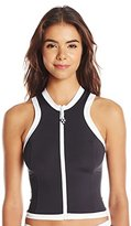 Seafolly Women's Block Party Sleeveless Vest Rashguard