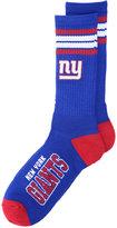 For Bare Feet New York Giants 4 Stripe Deuce Crew 504 Sock