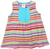 Zutano Super Stripe Darling Dress (Baby) - Multicolor-6 Months