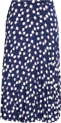 J.Crew Wendy Skirt Floral Satin Back