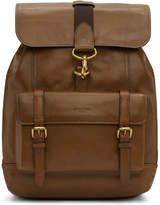 Coach 1941 Brown Leather Backpack