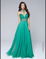 Nina Canacci - 1246 Dress in Green