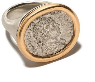 hum Engraved Signet Ring