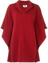 MM6 MAISON MARGIELA cape sleeves dress