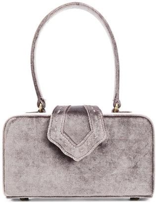 MEHRY MU Velvet Box Bag