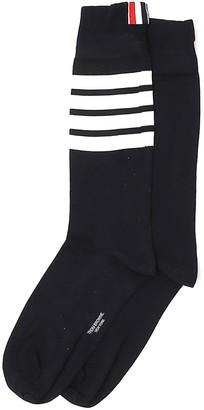 Thom Browne 4-Bar Crew Socks