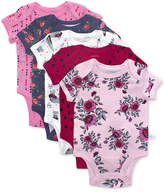 Rosie Pope 5-Pk. Enchanted Forest Cotton Printed Bodysuits, Baby Girls (0-24 months)