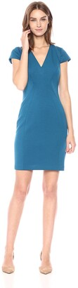 T Tahari Women's Elizabella Plush Knit Dress